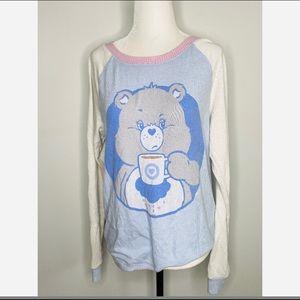 Care Bear Grumpy Beat Sleepwear PJ Top Women's